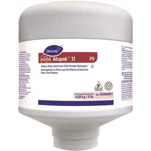DIVERSEY 95906901 Suma AlupakTM/MC II P9 9 lbs. Dishwasher Detergent
