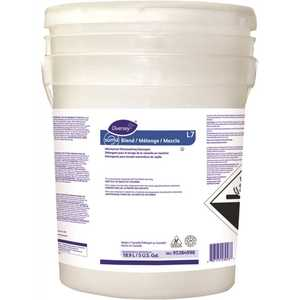 DIVERSEY 95384998 Suma Blend L7, 5 Gal. Chlorine Dishwasher Detergent