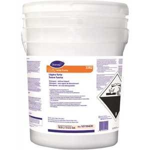 DIVERSEY 101104630 Clax Mild Forte 33B2 5 Gal. Surfactant Liquid Laundry Detergent without bleach (240 loads)