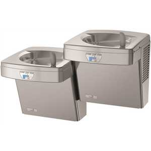 OASIS 506720 Refrigerated ADA Stainless Steel Energy/Water Efficient Contactless Hands Free Split-Level Drinking Fountain