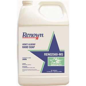 Renown 117506 1 Gal. Honey Almond Hand Soap