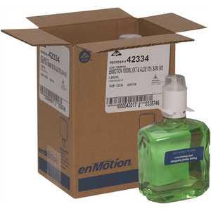 ENMOTION 42334 Green and Fragrance Free Gen2 Moisturizing E3-Rated Foam Sanitizer Dispenser Refill