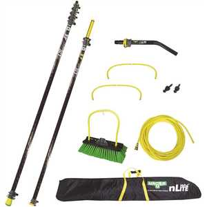 Unger HPNL3 55 ft. Window Professional Pure Waterfed Pole