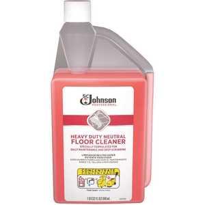 SC Johnson Professional 680081 1 Qt. Heavy Duty Neutral Floor Cleaner sqeeze and pour bottle