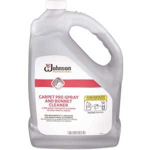 SC Johnson Professional 680082 1 Gal. Concentrated Carpet Pre-spray and Bonnet Cleaner