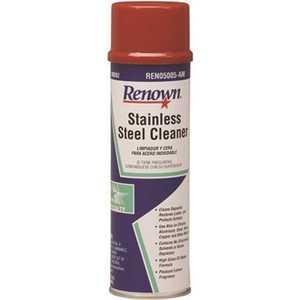 Renown REN05005-AM 15 oz. Oil Based Aerosol Stainless Steel Cleaner