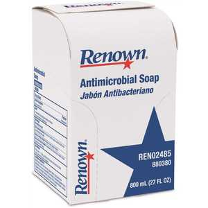 Renown REN02485 800 ml Antimicrobial Liquid Hand Soap Refill Clear Yellow to Amber