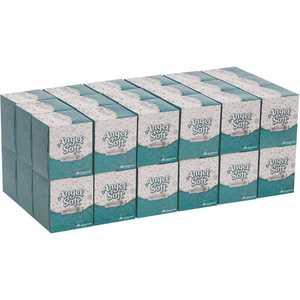 Angel Soft Professional Series 46580 White Premium Facial Tissue Cube Box