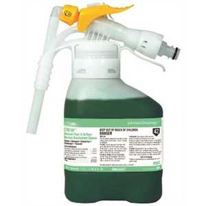 CREW 3063437 RTD 52.7 oz. Restroom Floor and Surface Non-Acidic Disinfectant/Cleaner