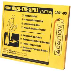 Rubbermaid 425100YL Over-the-Spill Station Kit