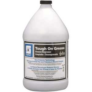 Spartan Chemical 203404 Tough on Grease 1 Gallon Industrial Degreaser