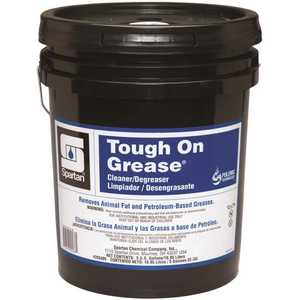 Spartan Chemical 203405 Tough on Grease 5 Gallon Industrial Degreaser