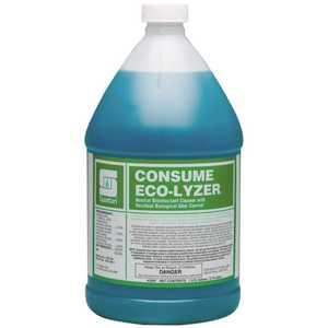 Spartan Chemical 329704 Consume Eco-Lyzer 1 Gallon Floral Scent Disinfectant/Deodorant