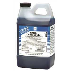 Spartan 471602-XCP4 NABC Concentrate 2 l Floral Scent Restroom Disinfectant - pack of 4
