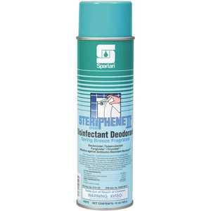 Steriphene II 607500 Brand 15oz. Aerosol Can Spring Breeze Scent Disinfectant Deodorant