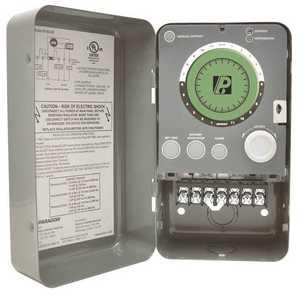 Paragon 9145-00 Defrost Timer, 1 SPDT, 1 SPST, Tri Volt Electronic, Time, Temperature, Pressure Termination