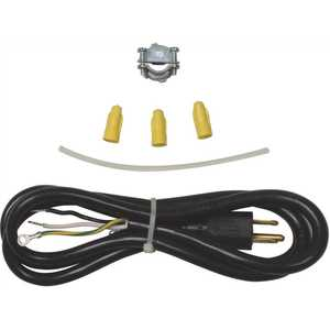 Whirlpool 4317824 70 in. 3-Prong Dishwasher Power Cord Kit