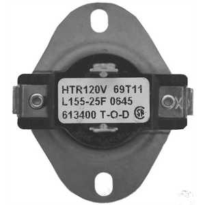 SUPCO L15525W Dryer Thermostat for Whirlpool