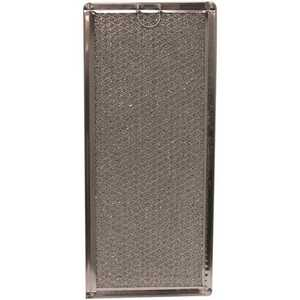 All-Filters G-6802 5-7/8 in. x 13-3/8 in. x 1/8 in. (PT SS) Aluminum Mesh Filter, Replacement Filter For WB06X10596