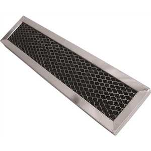 All-Filters C-61631 10-3/4 in. x 16-1/4 in. x 3/32 in. Carbon Range Hood Filter with Spring Clip, for Part BPSF36