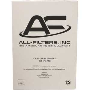 All-Filters CB-9101 Replacement Charcoal Filter For Frigidaire; EAFCBF, PAULTRA,242061001, 241754001, Pure Air Ultra