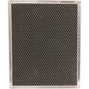 All-Filters C-62161 10-3/4 in. x 13-1/4 in. x 3/32 in. Carbon Range Hood Filter with Spring Clip, Replacement for BPSF30