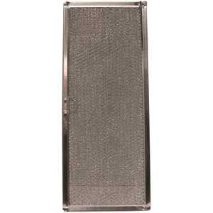 All-Filters G-8639 6-3/8 in. x 15-5/8 in. x 3/32 in. (PTLS) Aluminum Range Hood Filter, Replacement Filter For 71002111