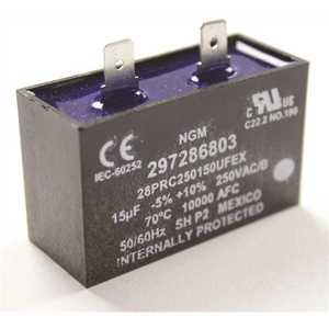 Frigidaire 297286803 120-Volt Refrigerator Run Capacitor