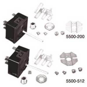 Robertshaw 5500-204M 1-13/16 in. Uni-Kit Universal Electric Range Infinite Switch Non-Push to Turn