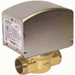 Honeywell Safety V8043E5079 1 in. Sweat NC Zone Valve, 24-Volt