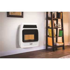 Dyna-Glo IRSS18NGT-2N 18,000 BTU Vent Free Infrared Natural Gas Thermostatic Wall Heater