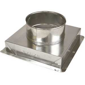 Master Flow CRB10X10X8 10 in. x 10 in. to 8 in. Ceiling Register Box