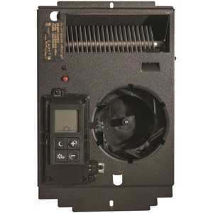 Cadet CE163T Energy Plus Electric Wall Heater Assembly with Stat, 1600/1500/1000-Watts, 240/208/120-Volt