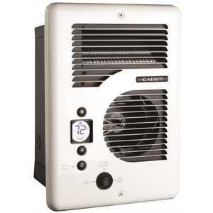 Cadet CEC163TW EnergyPlus 1600-Watt 120/240-Volt In-Wall Electric Wall Heater in White