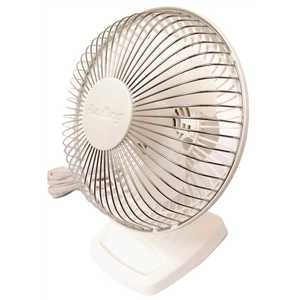 Air King 9146 6 in. 2-Speed Commercial Grade Desk Fan with Adjustable Head