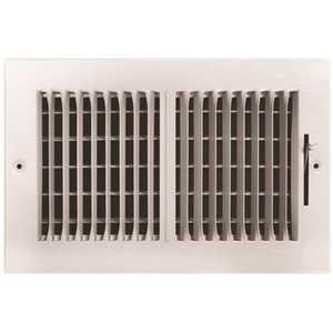 TruAire 102M 10X06 10 in. x 6 in. 2-Way Steel Wall/Ceiling Register