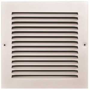 TruAire 170 08X08 8 in. x 8 in. White Stamped Return Air Grille