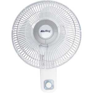 Air King 9012 12 in. 3-Speed Wall Mount Oscillating Personal Fan