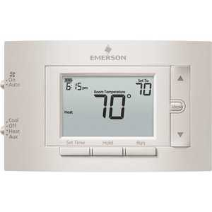 Emerson 1F83H-21PR 7-Day Programmable Heat Pump (2H/1C) Thermostat