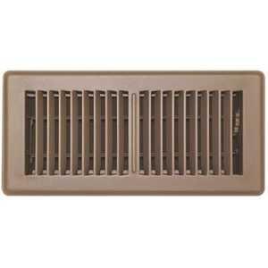 TruAire 150MB 04X10 4 in. x 10 in. Brown Floor Register