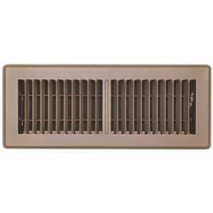 TruAire 150MB 04X12 4 in. x 12 in. Brown Floor Register