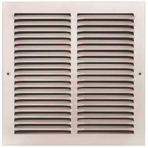TruAire 170 12X12 12 in. x 12 in. White Stamped Return Air Grille
