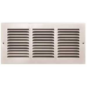 TruAire 170 14X06 14 in. x 6 in. White Stamped Return Air Grille