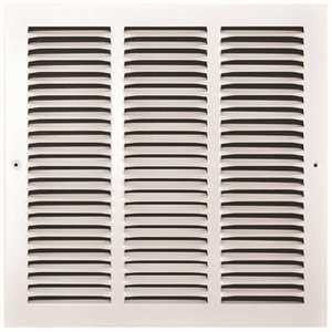 TruAire 170 14X14 14 in. x 14 in. White Stamped Return Air Grille