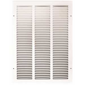TruAire 170 14X20 14 in. x 20 in. White Stamped Return Air Grille