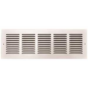 TruAire 170 20X06 20 in. x 6 in. White Stamped Return Air Grille