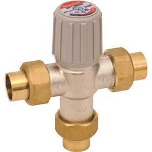 Honeywell Home AM101-US-1LF Lead-Free Water Heater Thermostatic Mixing Valve