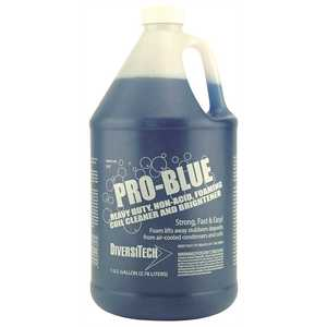 Diversitech PRO-BLUE 1 Gal. Heavy-Duty Pro-Blue Non-Acid Foaming Concentrate Outdoor Condenser Coil Cleaner