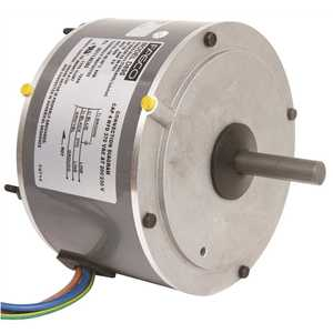 FASCO D895 CONDENSER FAN MOTOR, 5-5/8 IN., 208 / 230 VOLTS, 0.8 AMPS, 1/8 HP, 1,650 RPM