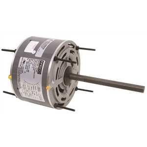 FASCO D743 CONDENSER FAN MOTOR, 5-5/8 IN., 208 / 230 VOLTS, 1.2 AMPS, 1/5 HP, 1,075 RPM